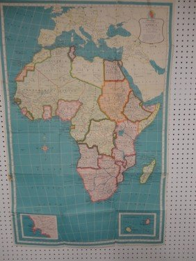 8: Vintage African Missionary map