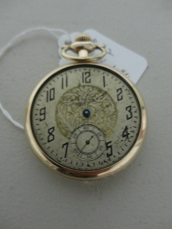 11: Antique Pocket watch 14k Gold plated