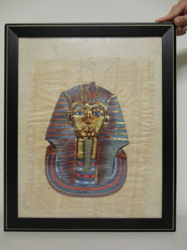 17: Egyptian Pharao painting