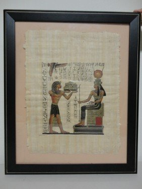 18: Egyptian Oracle painting