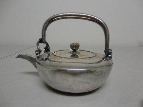 78: Japanese Maiji silver Tea pot