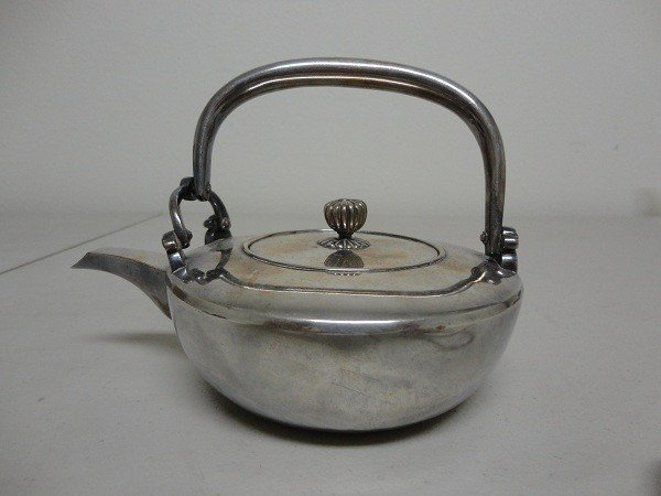78: Japanese Maiji silver Tea pot