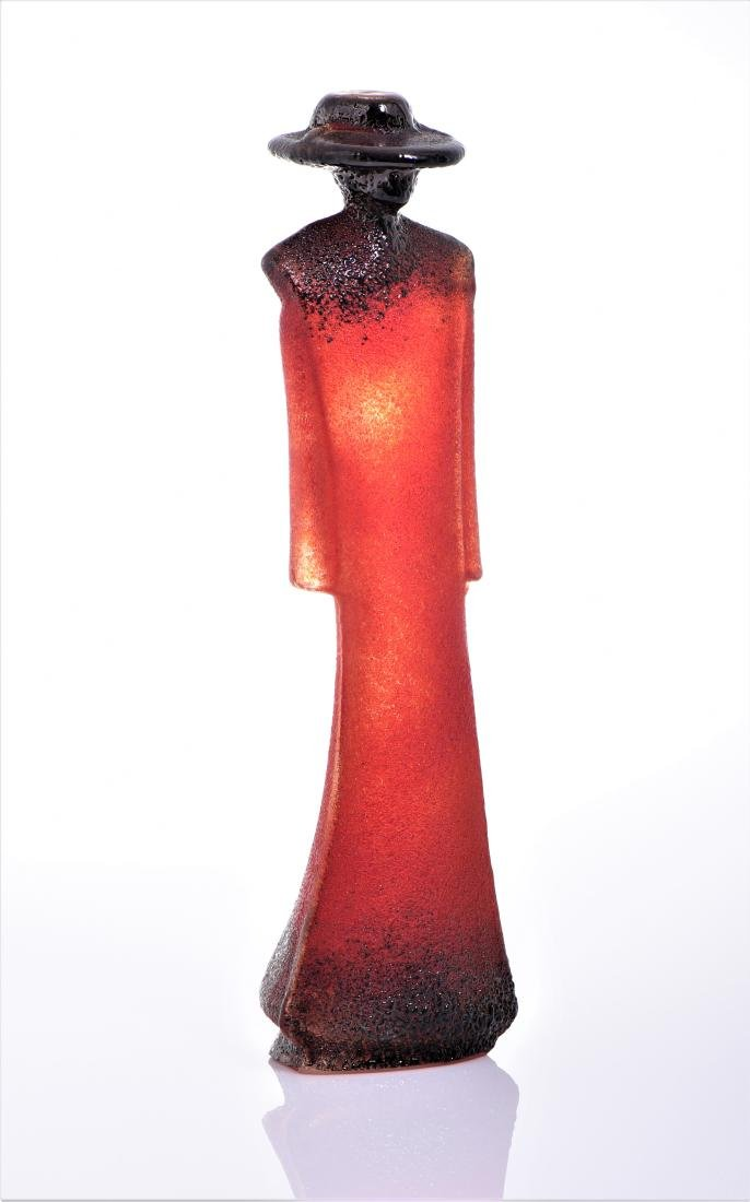 Kjell Engman Kosta Boda Glass Sculpture Of A
