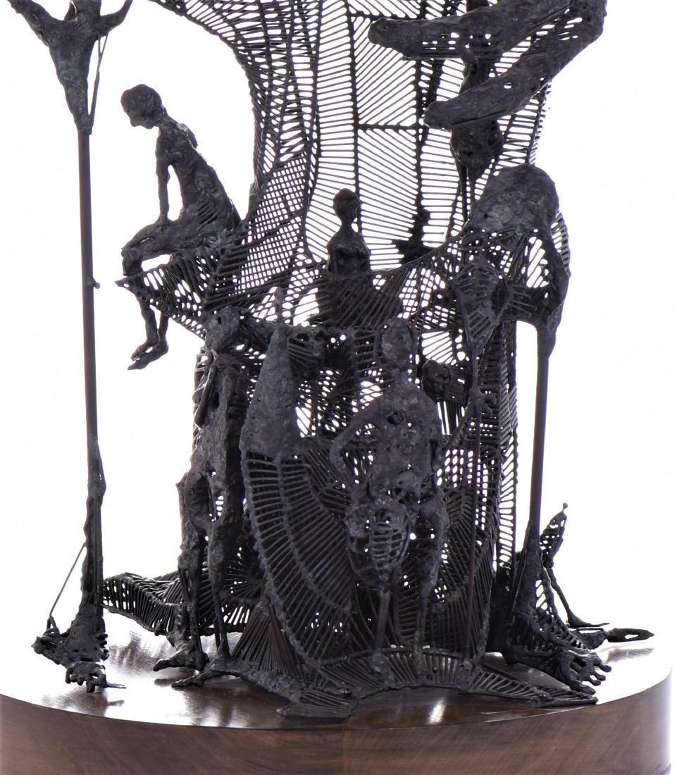 Gary Hill, Born 1951, American Artist, An Original - 5