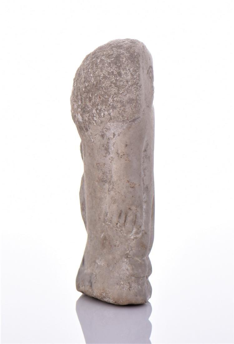 Mesopotamian Stone Artifact Votive Figure. - 2