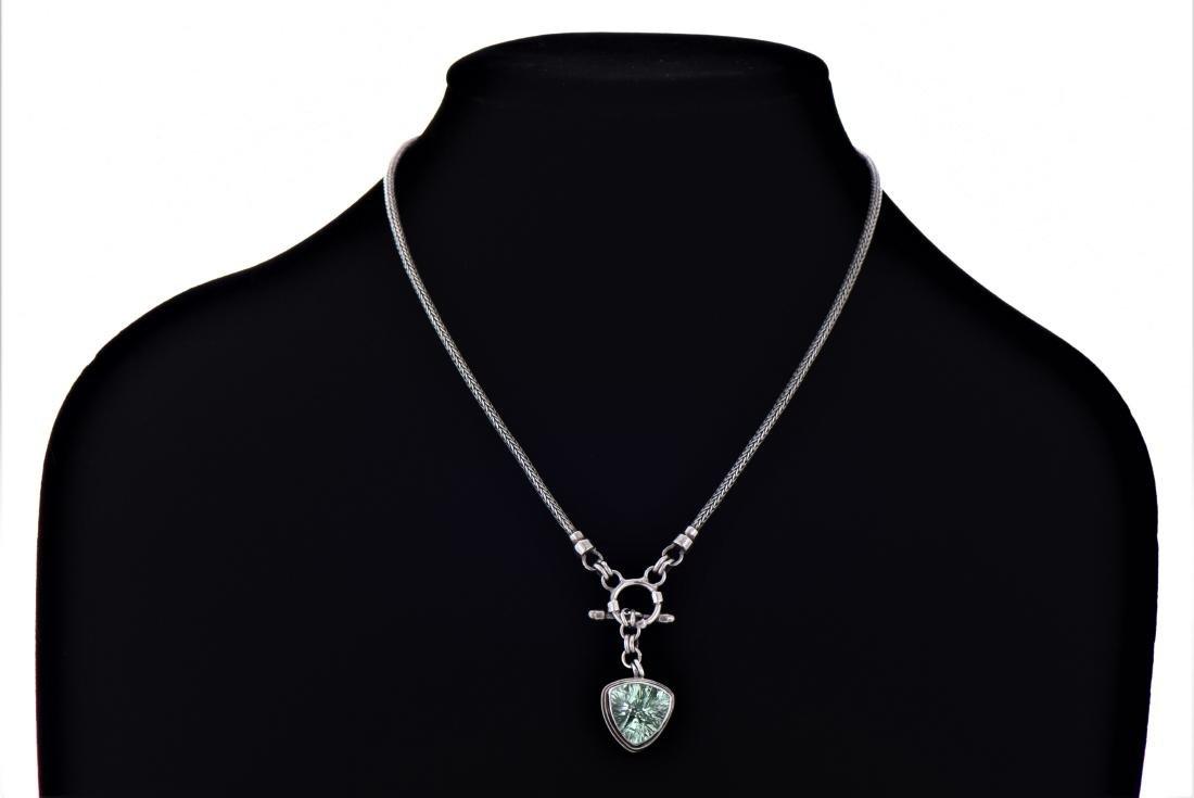 Sarda, Large Brilliant Mint Green Sapphire - 2