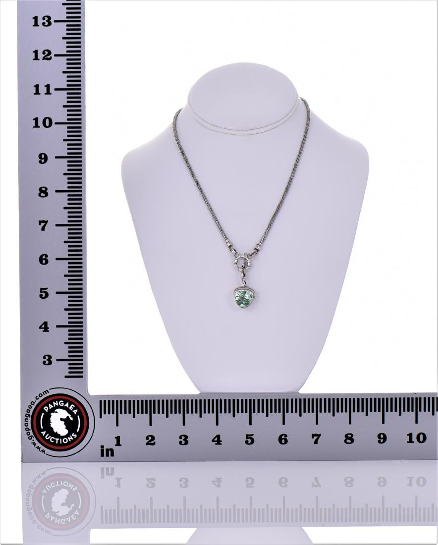 Sarda, Large Brilliant Mint Green Sapphire - 5