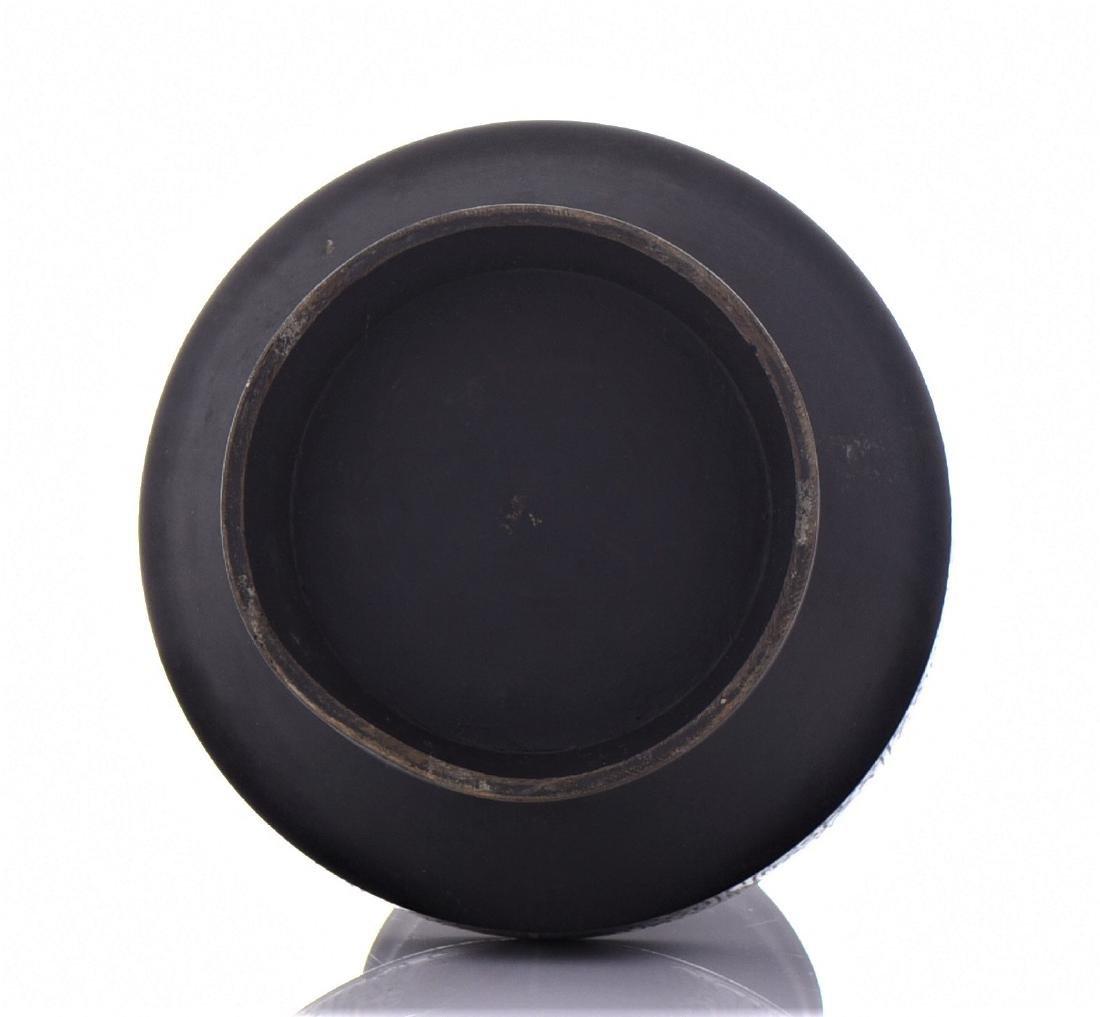 Antique Chinese Bronze Champleve Enamel Urn - 6