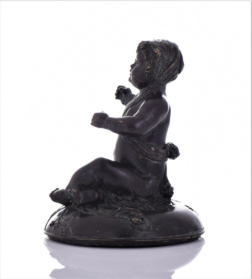 Antique Eastern European Heavy Bronze Sculpture - 2