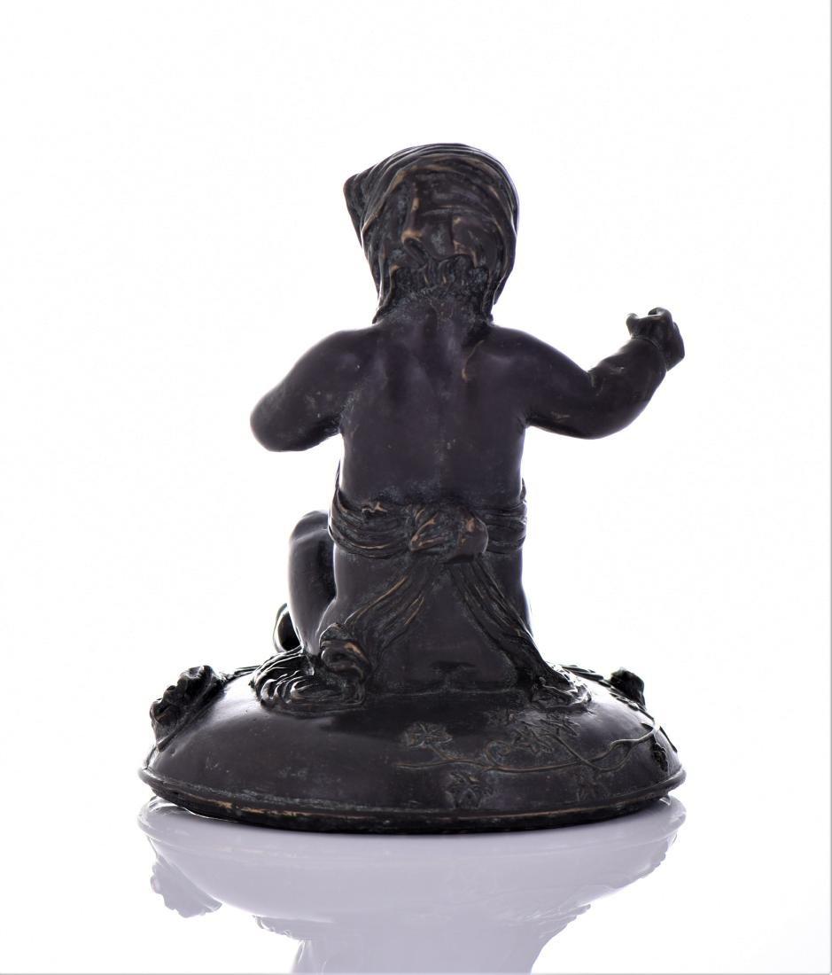 Antique Eastern European Heavy Bronze Sculpture - 3
