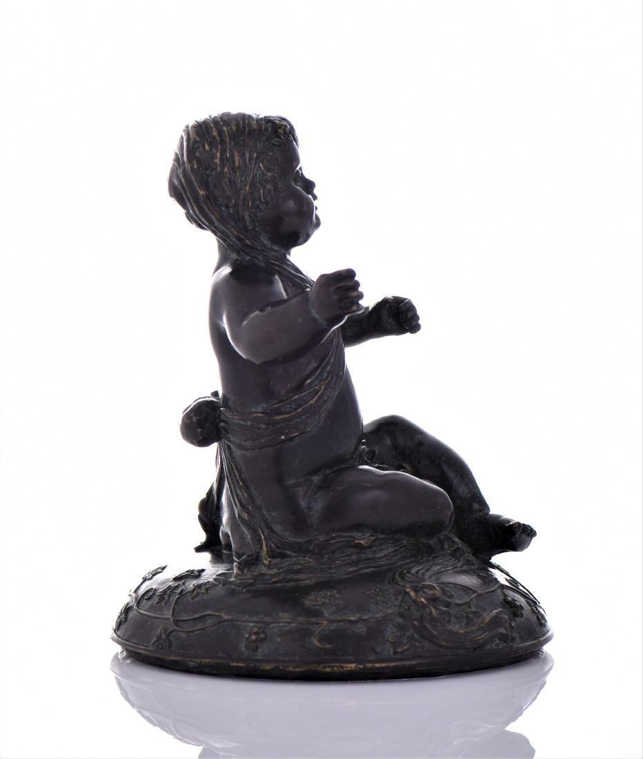 Antique Eastern European Heavy Bronze Sculpture - 4