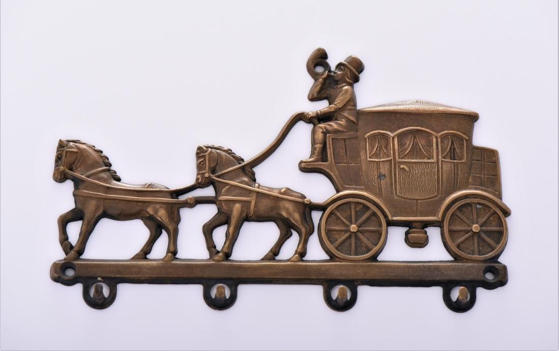 Antique Victorian Brass Belt.