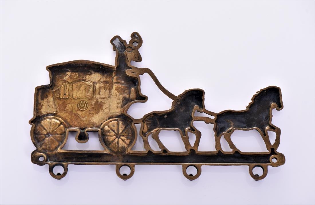 Antique Victorian Brass Belt. - 2