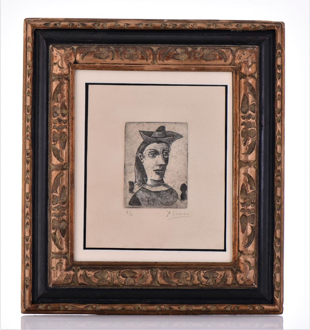 Signed Picasso Etching, Artist Proof Edition