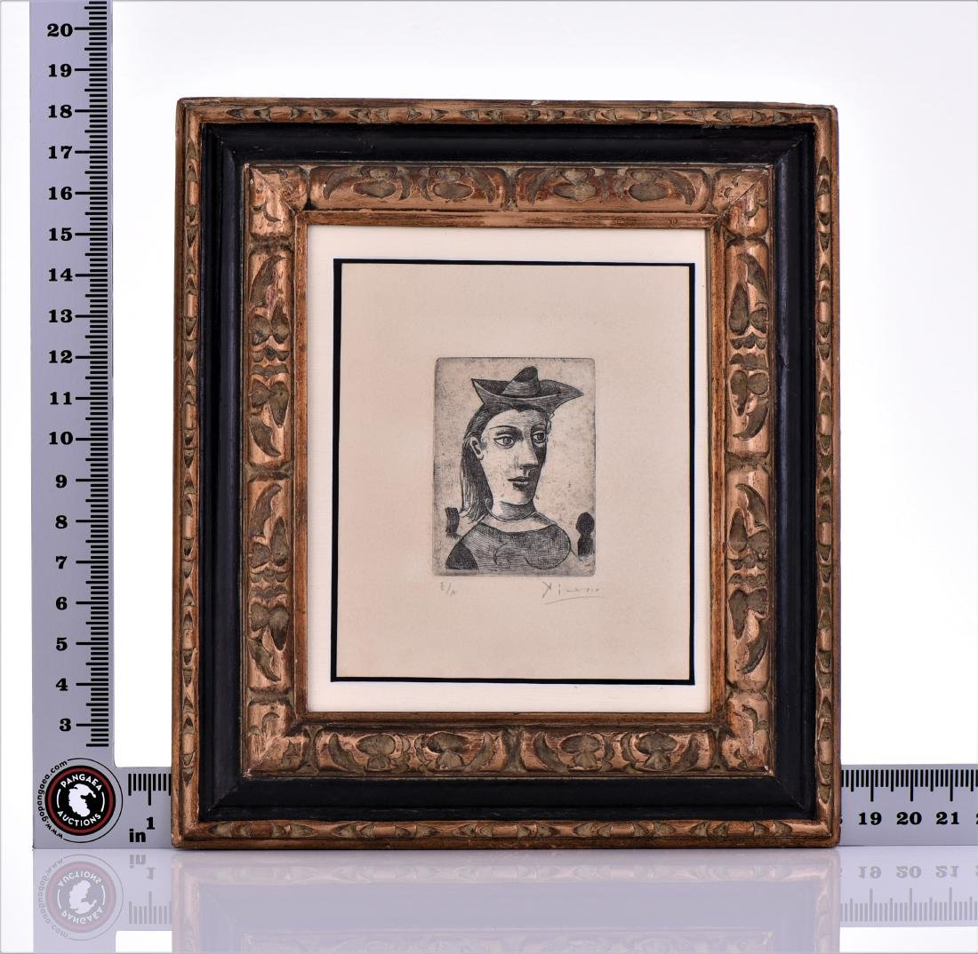 Signed Picasso Etching, Artist Proof Edition - 4