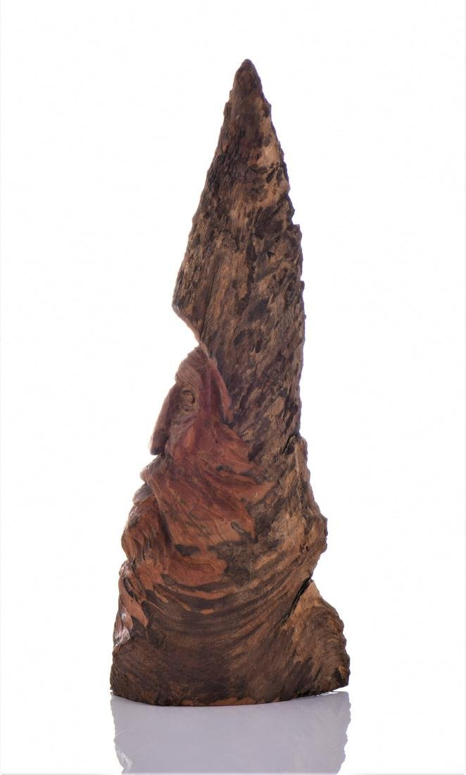 Gnome Figure Carved From Hardwood. - 4