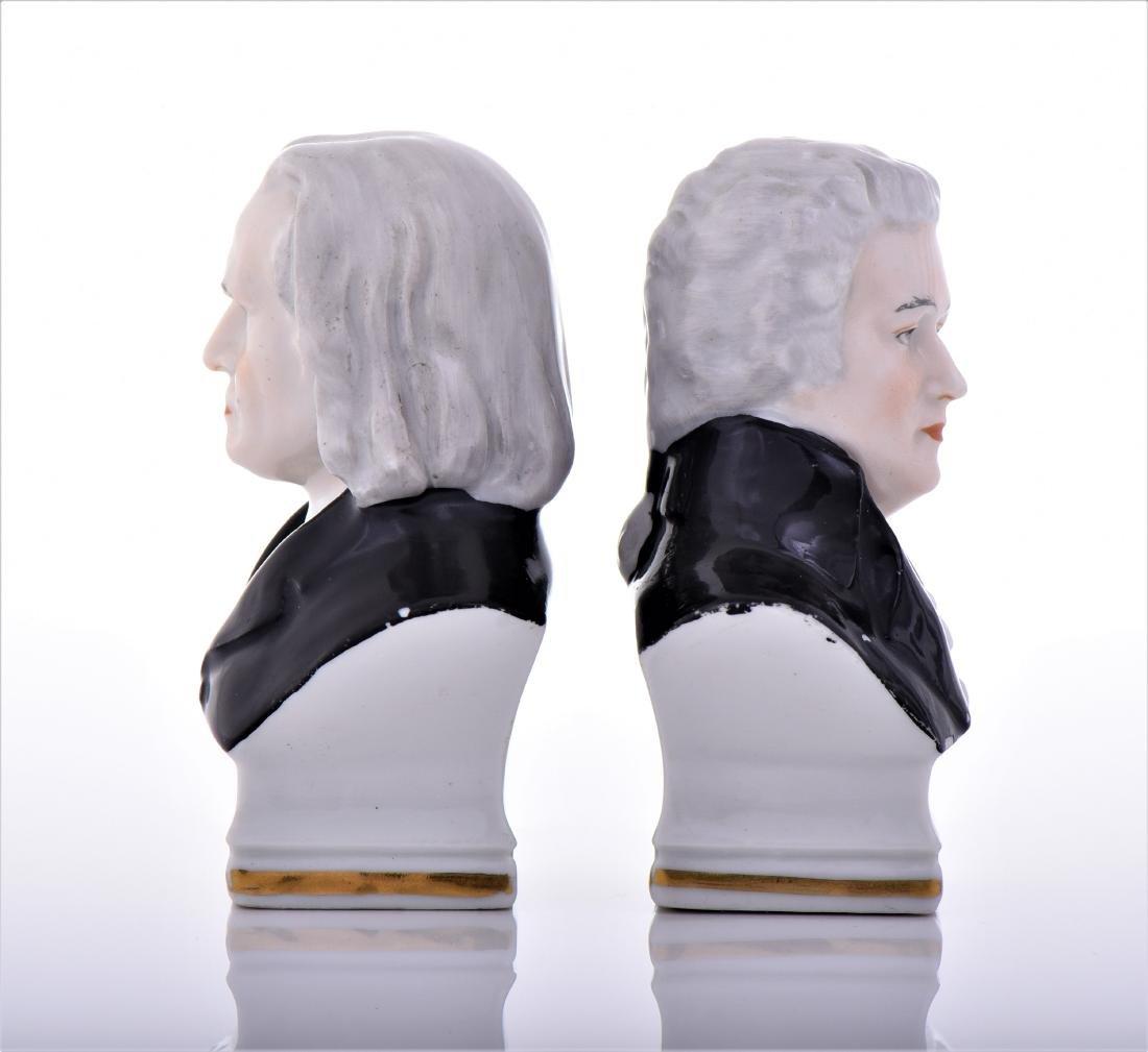 Vintage Capodimonte Erphila Porcelain Busts of - 4