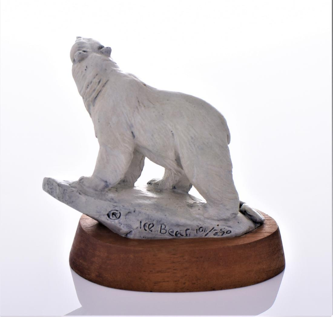 Daniel Parker Bronze Sculpture Titled Ice Bear, - 3