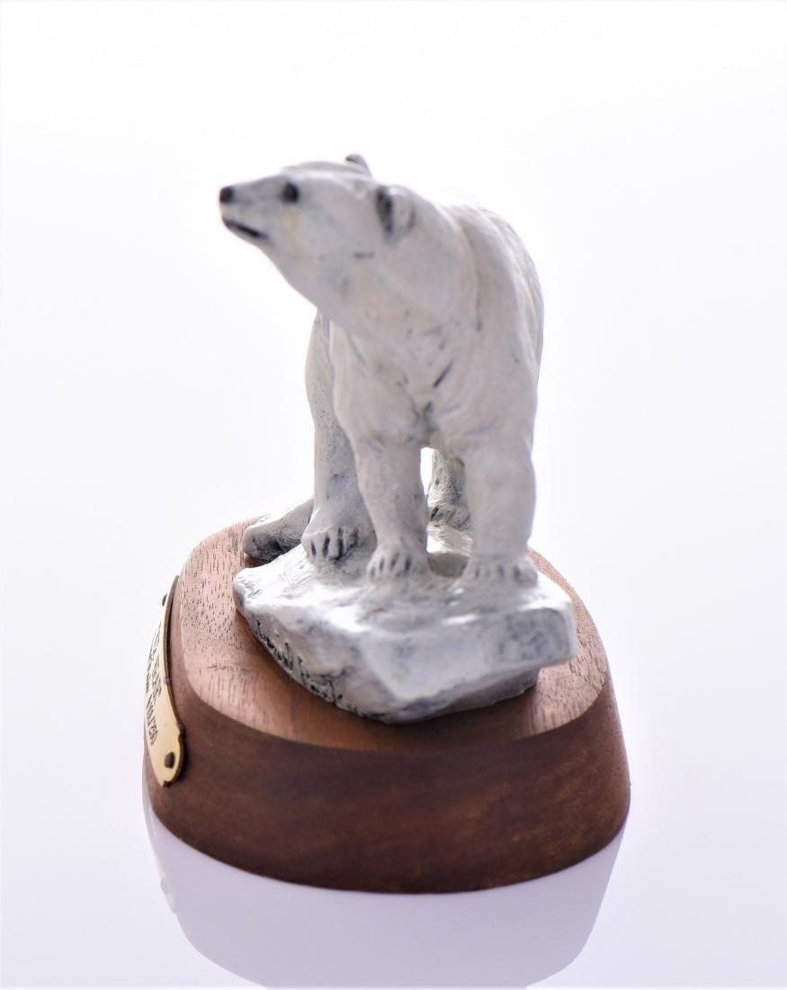 Daniel Parker Bronze Sculpture Titled Ice Bear, - 4