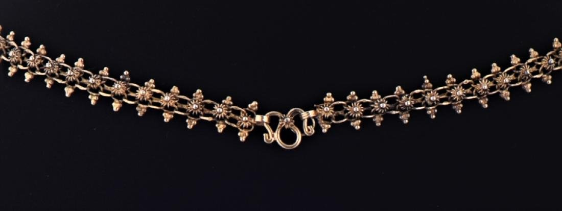 Victorian Gold Over Sterling Silver Custom - 4