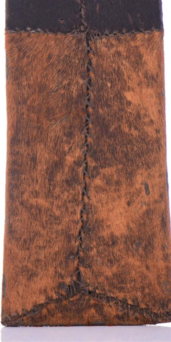 African Machete Knife Sheath, Cameroon. - 3