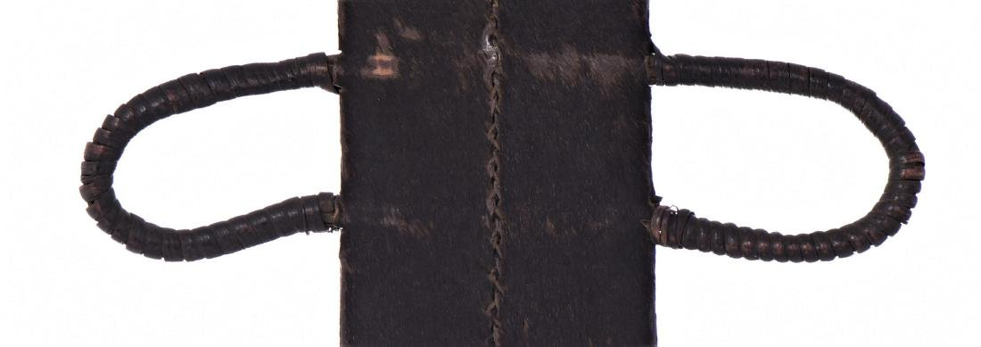 African Machete Knife Sheath, Cameroon. - 4