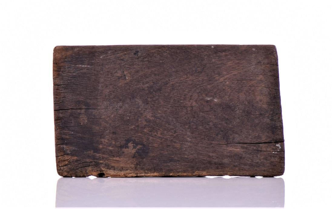 Antique African Textile Wash Board. - 2