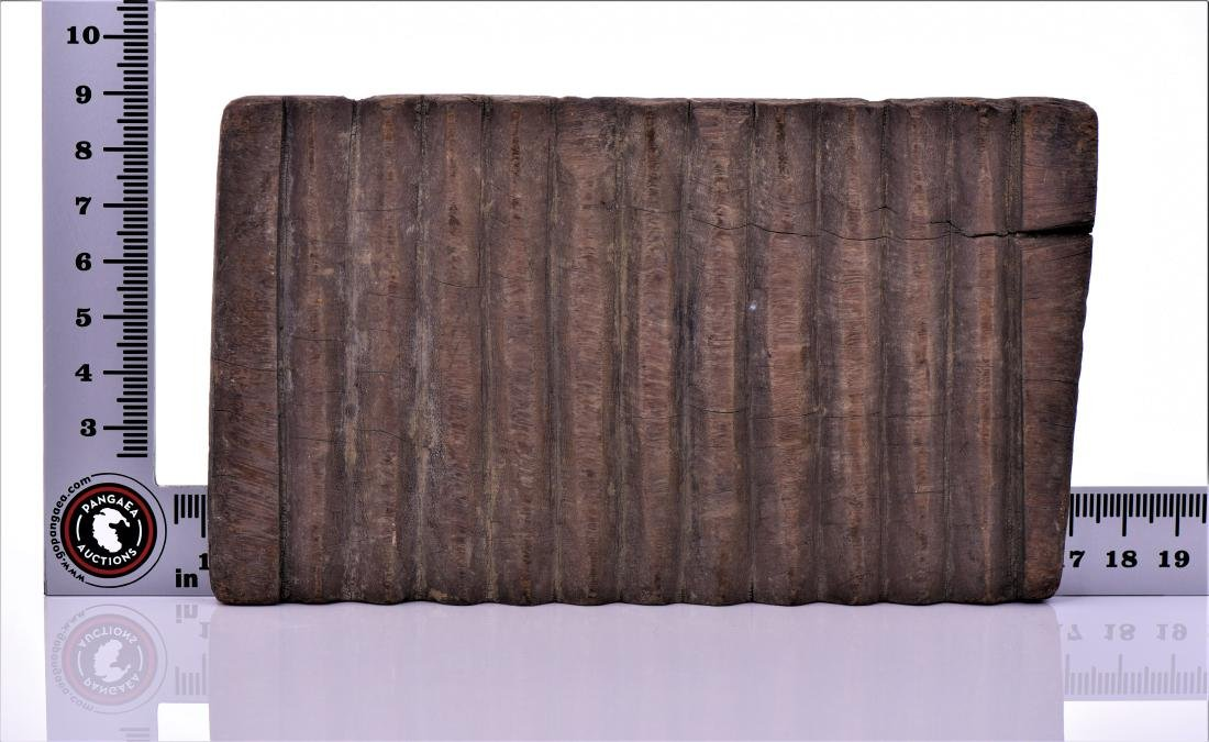 Antique African Textile Wash Board. - 3