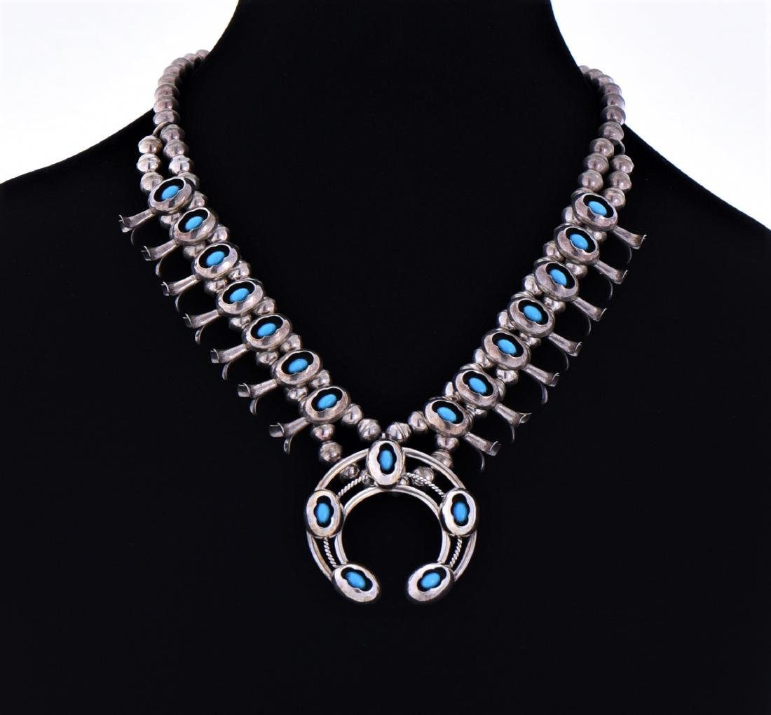 Native American Sterling Silver Turquoise