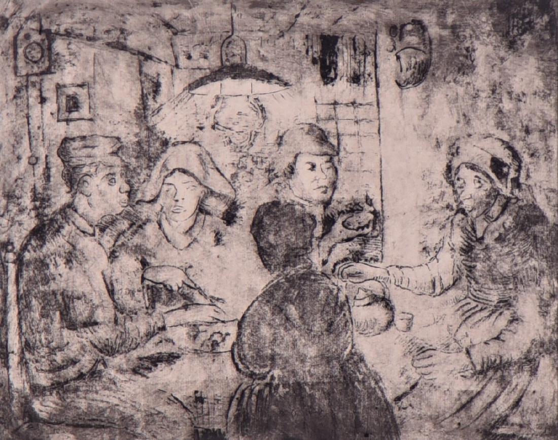 Signed Vincent, Vincent Van Gogh, Etching - 2