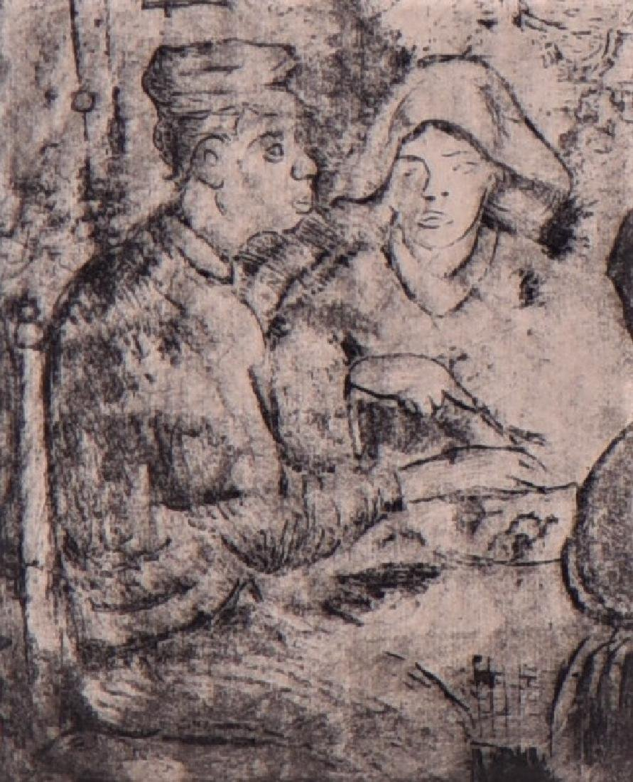 Signed Vincent, Vincent Van Gogh, Etching - 4