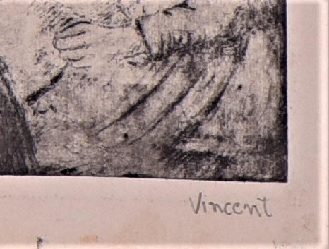Signed Vincent, Vincent Van Gogh, Etching - 5