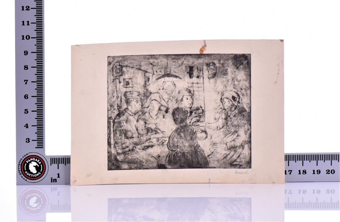 Signed Vincent, Vincent Van Gogh, Etching - 6