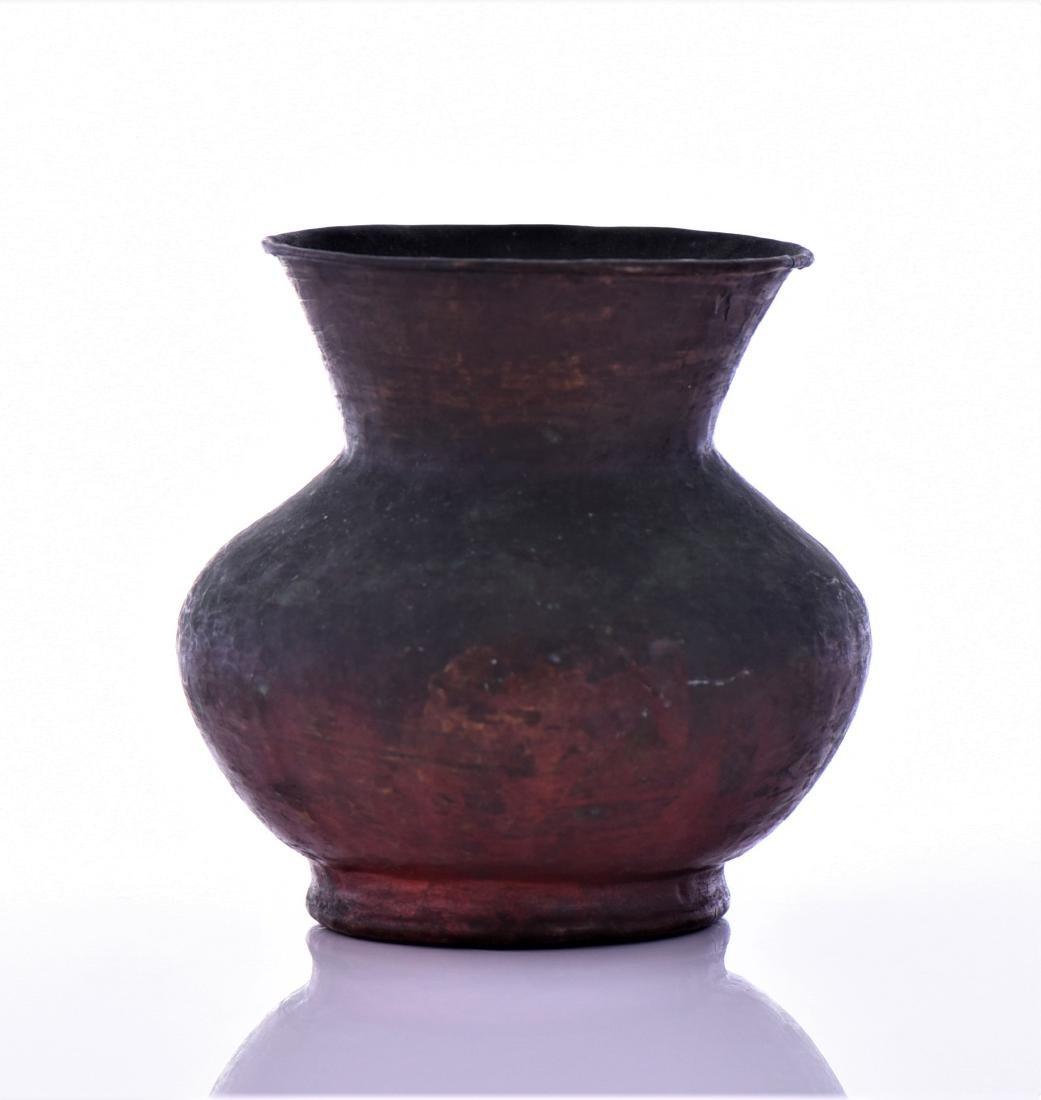 Antique Small Copper Pot - 2