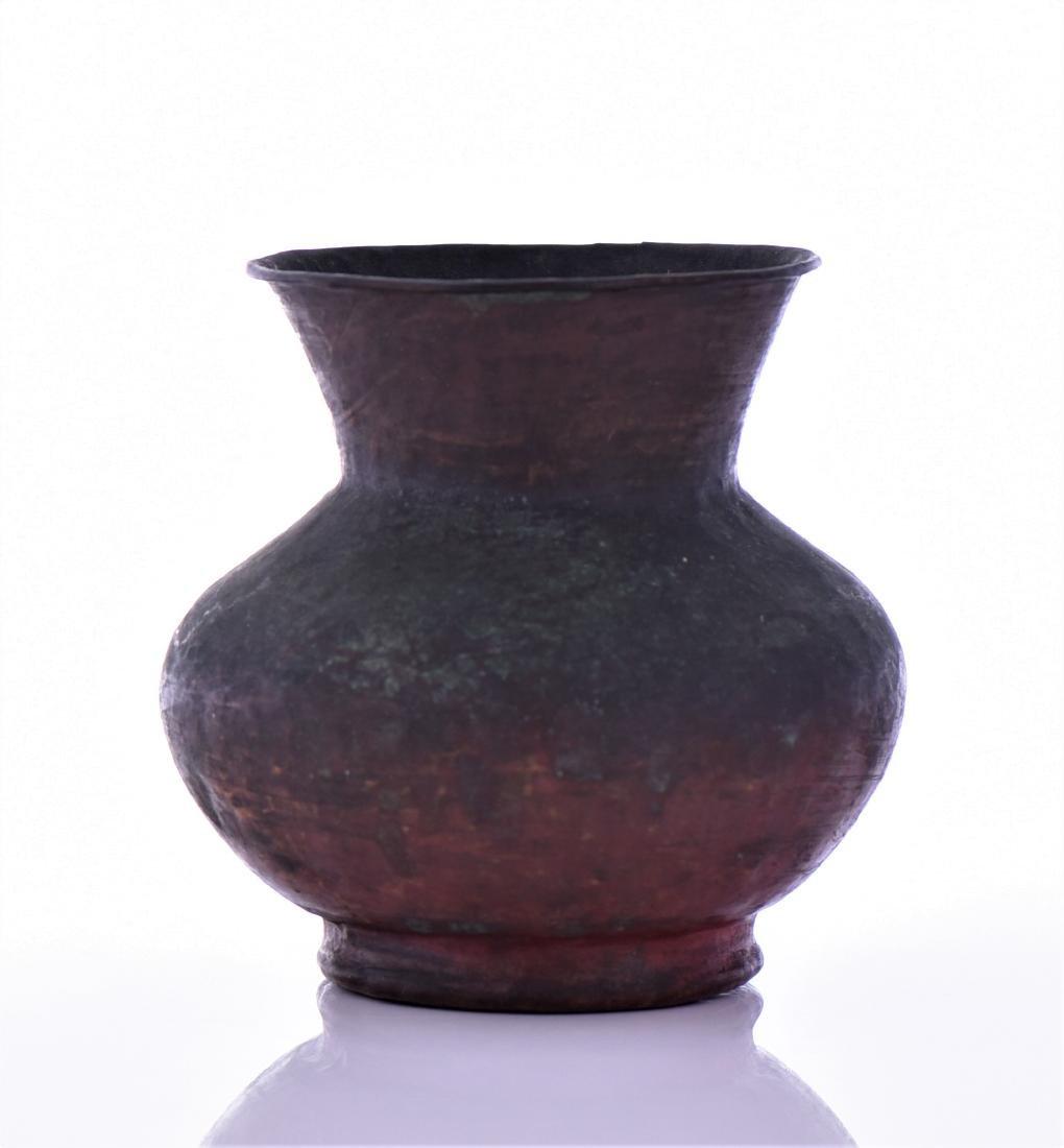 Antique Small Copper Pot - 3