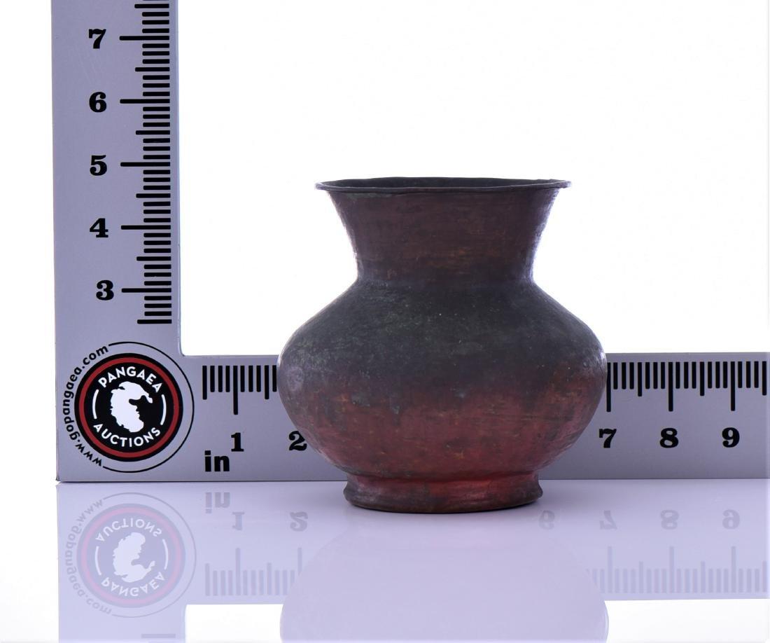 Antique Small Copper Pot - 5