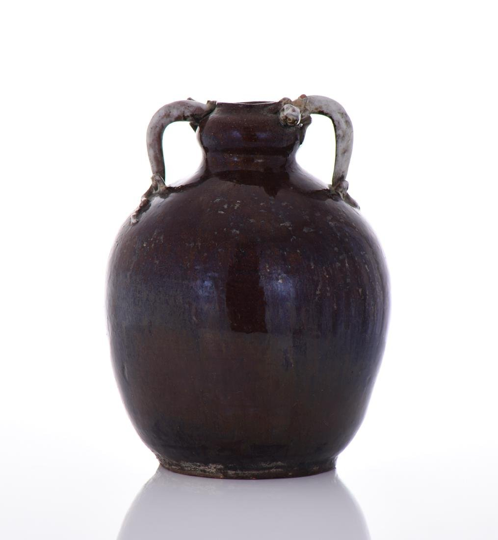 18th Century Qing Dynasty Flambe Glaze