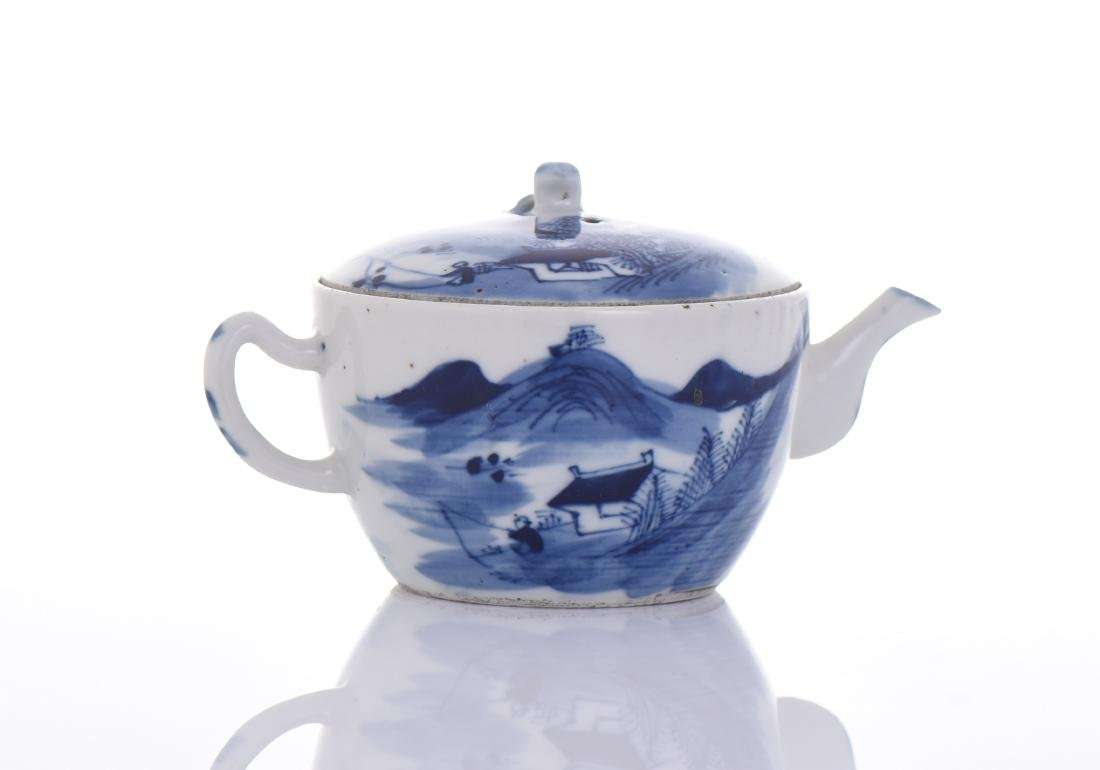 Qing Dynasty Blue And White Porcelain
