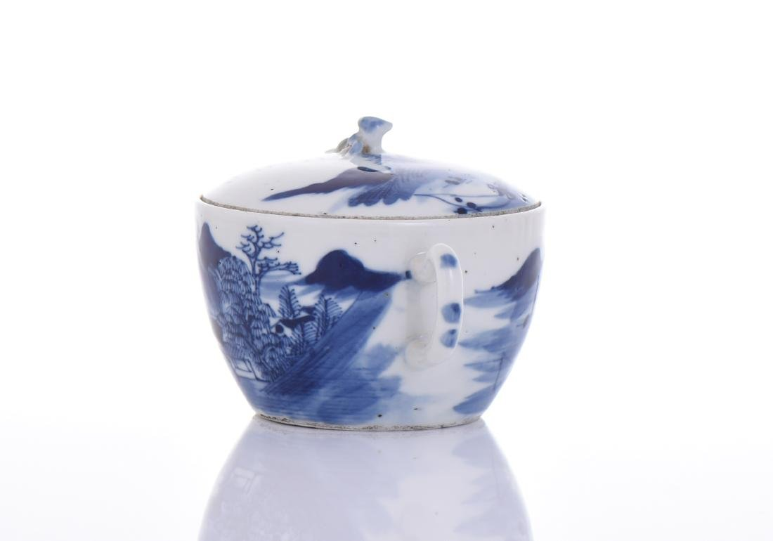 Qing Dynasty Blue And White Porcelain - 2