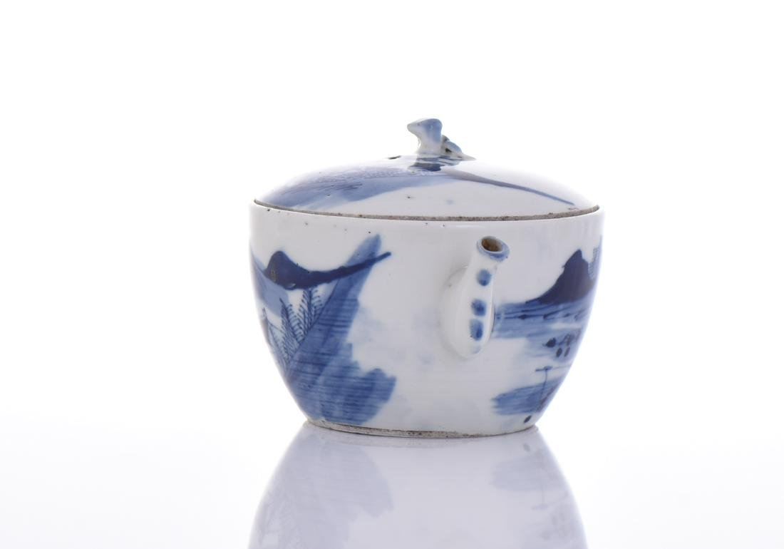 Qing Dynasty Blue And White Porcelain - 4