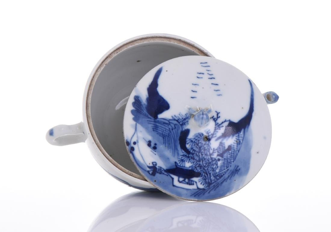 Qing Dynasty Blue And White Porcelain - 5