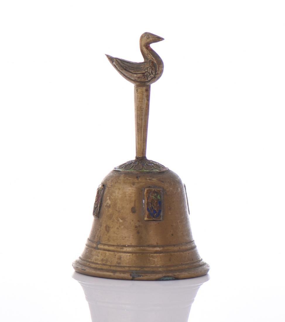 19th Century Bronze Bell. - 3