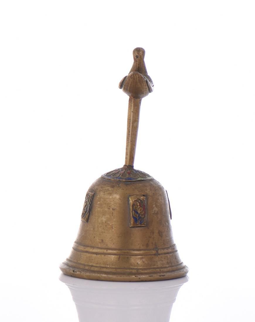 19th Century Bronze Bell. - 4