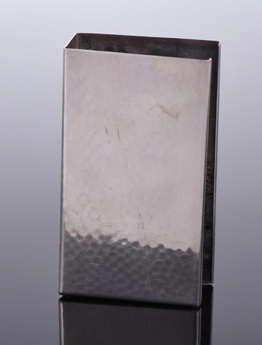 Silver Plated Denmark Cigarette Case - 2