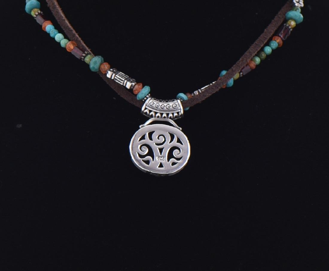 Sterling Silver With Turquoise, Malachite - 3