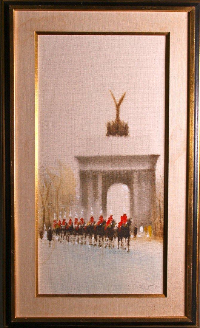 """1: Anthony Robert Klitz (1917-2000)  """"Wellington Arch"""""""