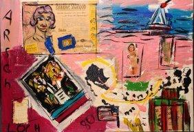 "7: Peter Robert Keil (1942) ""Visit Long Island""  Signed"