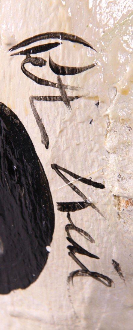 8: Peter Robert Keil (1942) Painted Torso sculpture.  O - 5