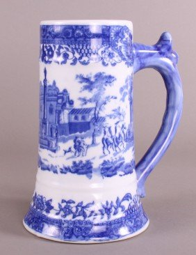 24: Ironstone Stein  Length= 8.25(in), Height=6.5(in),