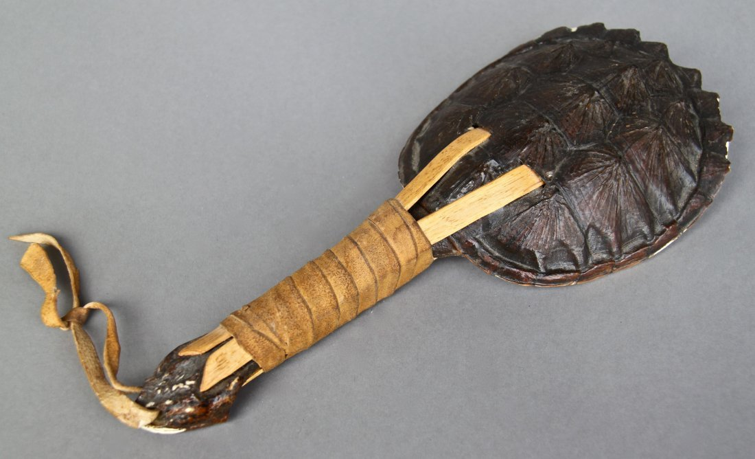 Seminole Indian Turtle Rattle